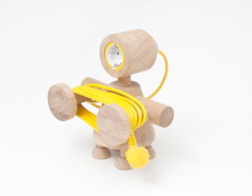 Little Wooden Robots as Daily Objects - Photo 1